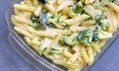 Leckerer Nudelauflauf mit Parmesansauceund Brokkoli.   Aufläufe sind super praktisch, gut vorzubereiten und bieten sich auch prima als ...