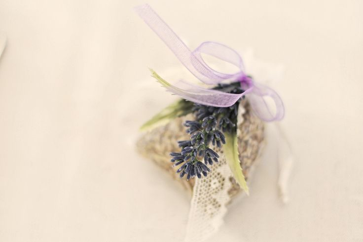 Homemade lavender bags for the ladies