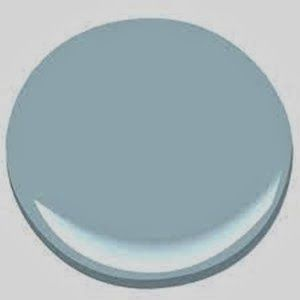 See the 2014 Paint colors of the year like Breath of Fresh Air Color 2014 from Benjamin Moore!