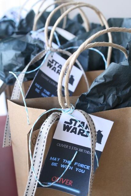 Party Inspirations: Olivers Star Wars Party