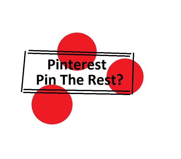 Pinterest or pin the rest?