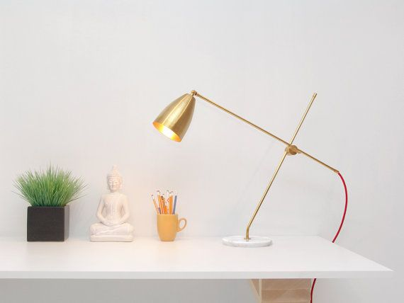 Opulux Cone Table Lamp Modern Table Lamp made with by GaganDesign