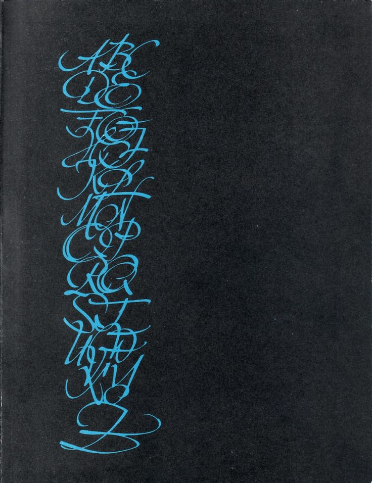 Estonian calligraphy 1940 - 1970