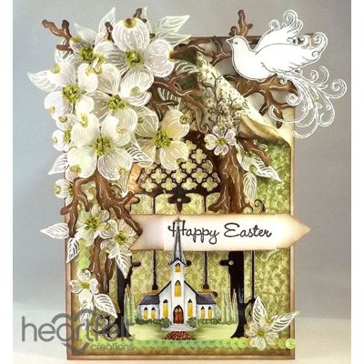 Heartfelt Creations - Easter Dogwood Chapel Project