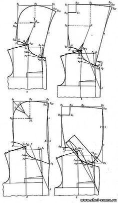 §18. Конструирование капюшонов - Глава IV - Конструирование мужской верхней одежды - Всё о шитье