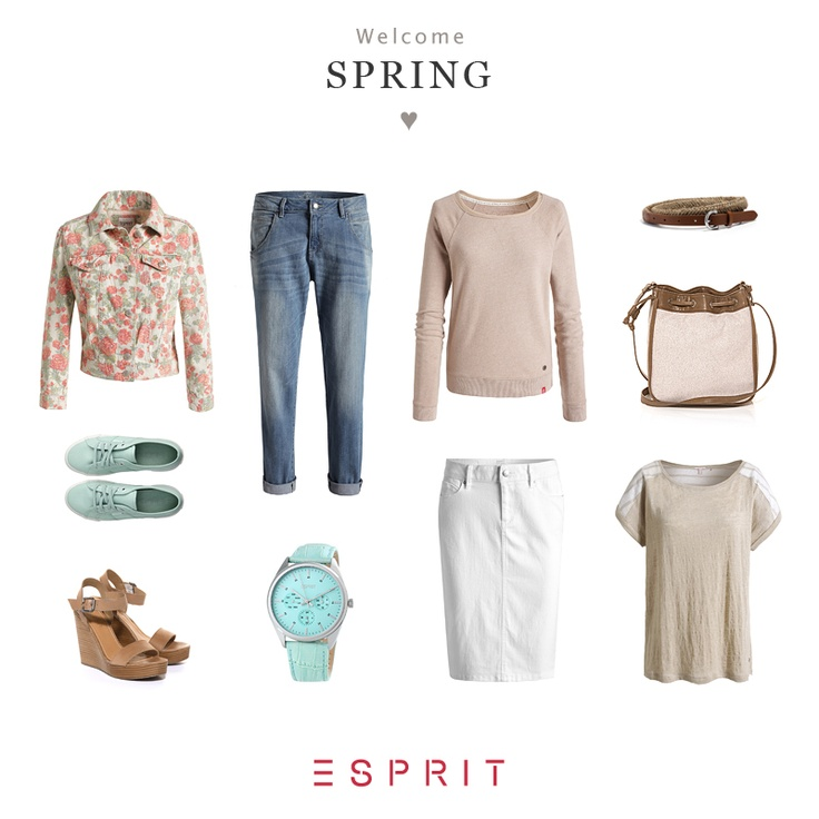 Spring is making the very best of its winter sleep. But that wont keep us from making a trip into this coming season, at least in our thoughts - and with a suitable collection from our recent spring collection. Check it out yourself! #travel #Esprit