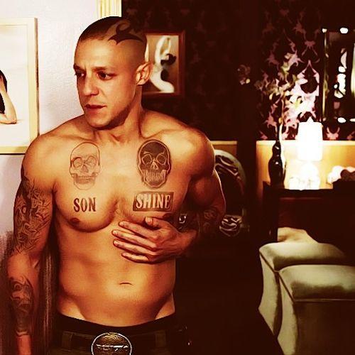 #soa #bad boy - juice, he has the best ink