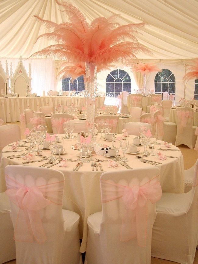 130 best Feather Wedding Decor images on Pinterest | Feathers ...