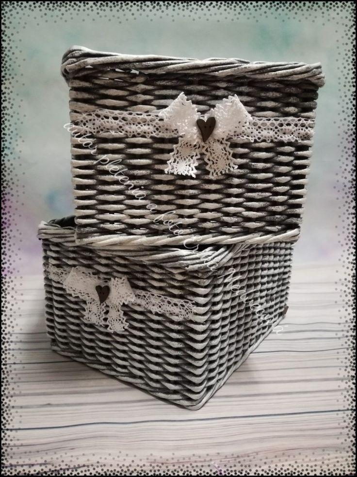 Košíky z papiera