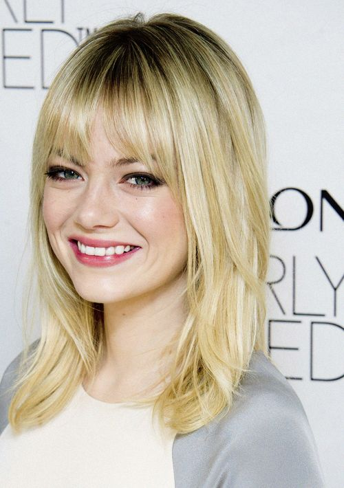 hair cut styles medium length hair with layers and bangs 1270