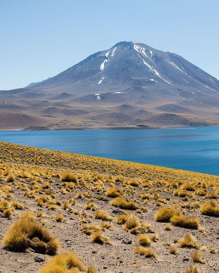 O #tbt de hoje é da Laguna Miscanti no Atacama Chile #NerdsNoAtacama
