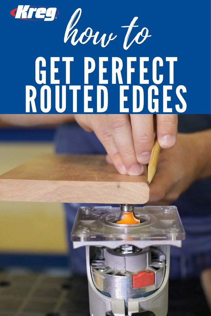 How To Dress Up Edges with a Roundover Bit | Learn how to take your projects to the next level by adding decorative profiles with a router. Here, we'll show you how to create four different edge profiles using just one router bit. It's a great way to add style to a project simply, and it's a great technique for anyone who is learning how to use a router.
