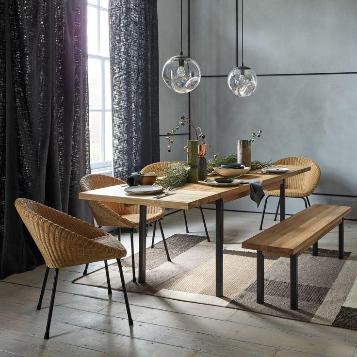 Artur Extending Dining Table In 2019: FELIZ 6-12 Seater Solid Oak Extending Dining Table In 2019