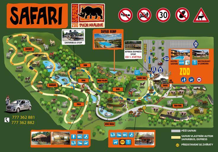 ZOO Dvůr Králové - Zoo Plan