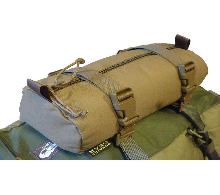 Dunamis Gear's Cargo Hanger is a lightweight, extremely durable general purpose pouch that easily attaches to PALS/MOLLE webbing, compression straps, and tie-downs for modular gear storage. The Cargo