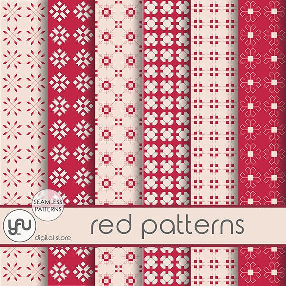"""Red Digital Paper: """"RED PATTERNS"""" with red digital paper in red, red scrapbooking paper, patterns for scrapbooking, cards and invitations #Craft #Scrapbooking #Paper #digital #red  #background  #seamless #pattern #holiday #geometrical #invitations #cards #scrapbookingpaper #digitalpaper #reddigital #paperred #scrapbookpaper #reddigital #redpaper #redbackground #digitaldownload #seamlesspattern #holidaypaper #geometricalpatterns #redpatterns"""