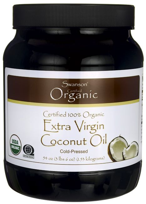 Certified 100% Organic Extra Virgin Coconut Oil