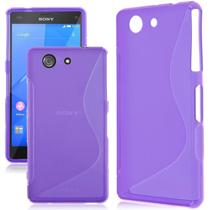 Free Tempered Glass For Sony Xperia Z1 Z3 Z5 Case Matte Silicon Soft Cover Shock Protective Case For Sony Z5 Z3 Z1 Compact Case www.peoplebazar.net    #peoplebazar