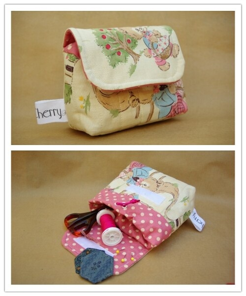 Quilted Pouch - by redcherrypatternco on madeit