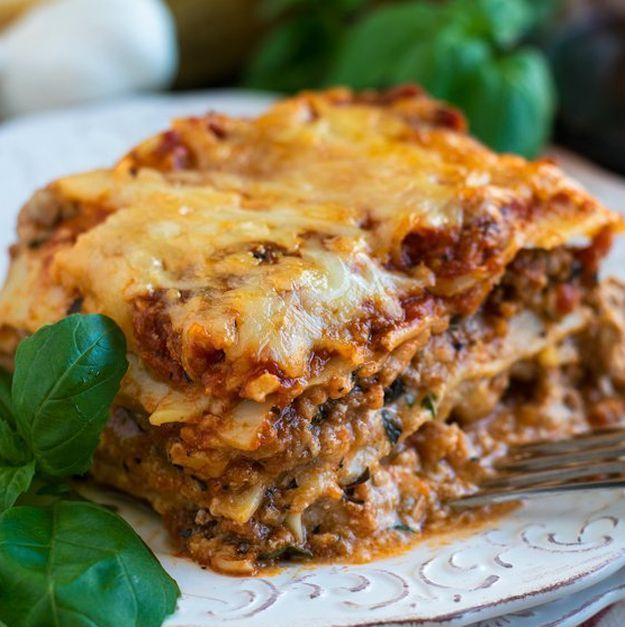 Classic Lasagna | 16 Of The Most Delicious Homemade Lasagna Recipes