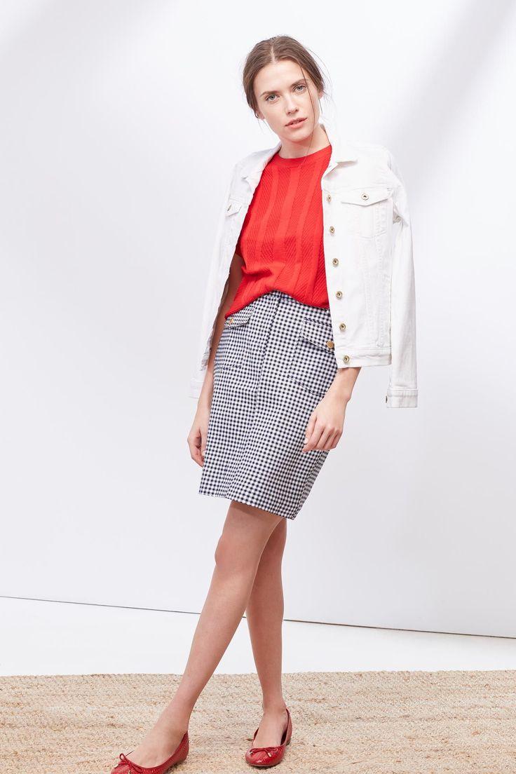 Falda piqué | Faldas | Cortefiel 50€