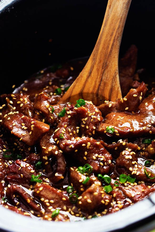 Amazing and flavorful beef that slow cooks to tender melt in your mouth perfection! This will be one of the best meals that you will make! My youngest sister just left to college in Korea. We ha…