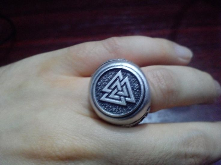 dropshipping 1pcs Norse Valknut jewelry style viking rinng  mammen style scandinavian norse jewelry ring viking Men Ring