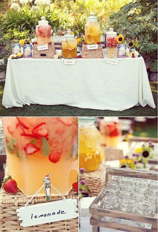 buffet bebidas