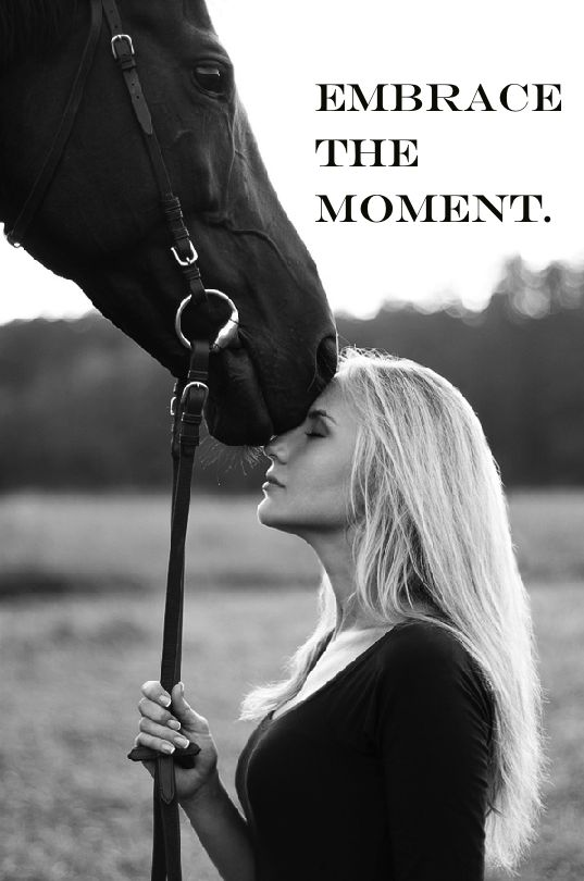 Gorgeous photo! #quote #horse #equestrians   Photo Credit: Polina Nefidova