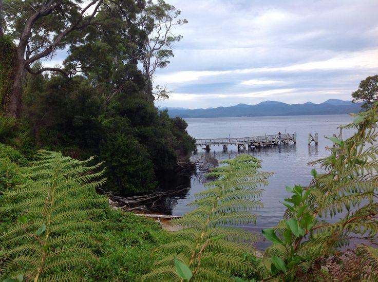 Jetty at Strahan, Tasmania