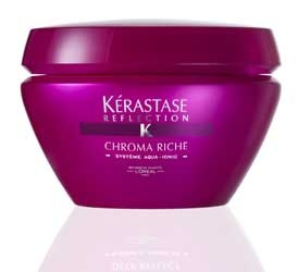 Kerastase Chroma Riche treatment.. another must for highlighted hair.