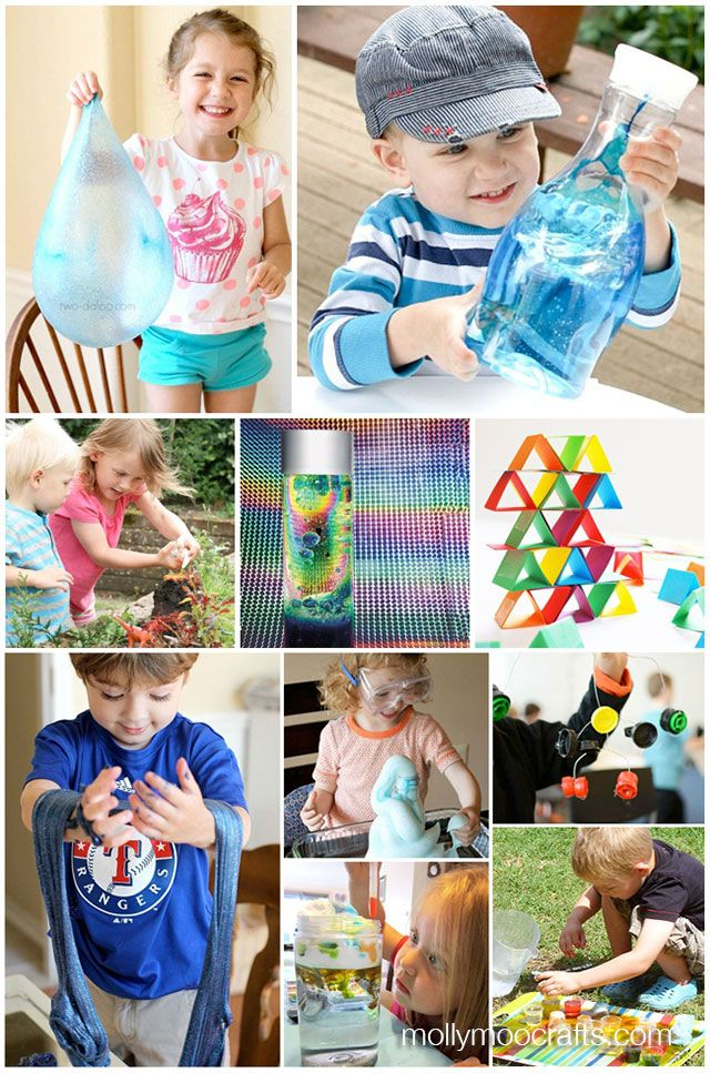 MollyMoo – crafts for kids and their parents 21 Fun Home Science Experiments For Kids