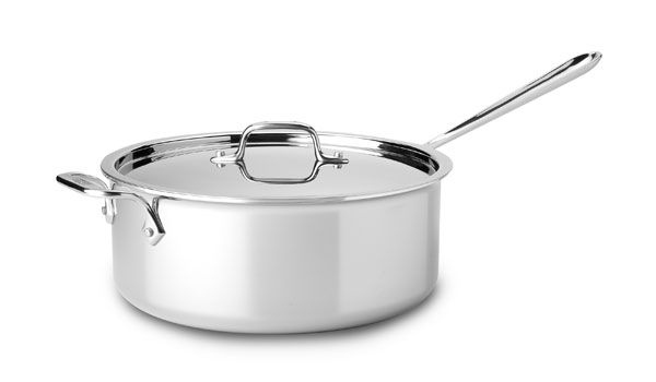 Shop for All-Clad Stainless 5-qt.  Larger Saute Pans at cutleryandmore.com. We are your source for All-Clad Stainless including this All-Clad Stainless Deep Saute Pan. We carry only high quality cookware kitchen knives small appliances kitchen tools and coffee makers.