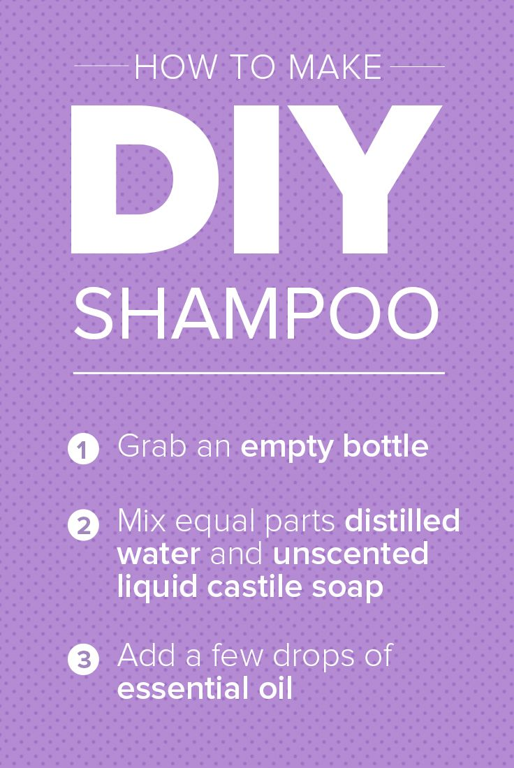 Don't fret if you run out of shampoo. You can make your own using ingredients you likely already have at home. Follow these steps for DIY shampoo.