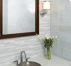 Glass Tile Bathroom Designs Glamorous 8 Best Sunshine Cir Bathroom Images On Pinterest  Bathroom Ideas Design Ideas