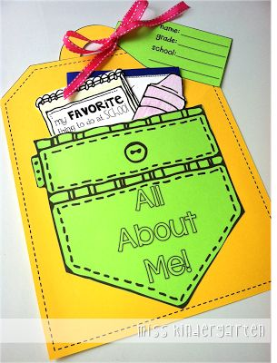 Great family activity! All About Me Craft & a Giveaway!