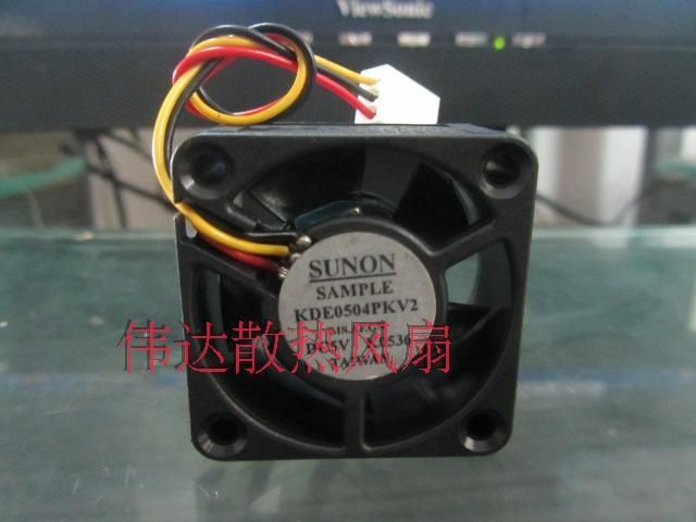 11.67$  Buy now - http://ali0ic.shopchina.info/1/go.php?t=2015214753 - Free Shipping SUNON KDE0504PKV2 4020 DC 5V 40mm server inverter axial cooling fans blower industrial case computer fan 11.67$ #buyininternet
