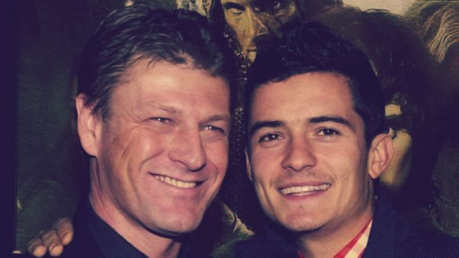 """""""He's [Orlando] a lovely guy, but he's a good guy, got a really good heart. But we're very different in some ways – I'm from up north, he's from down south, and I call him """"southern softie"""" and he calls me…[laughing] """"the northern bastard."""" Sean Bean on Orlando Bloom"""