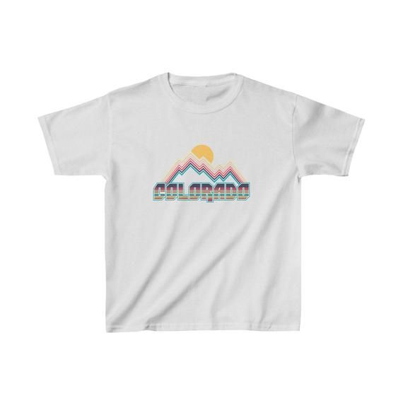Colorado Vintage Mountain Drawing Unisex Infant T-Shirt