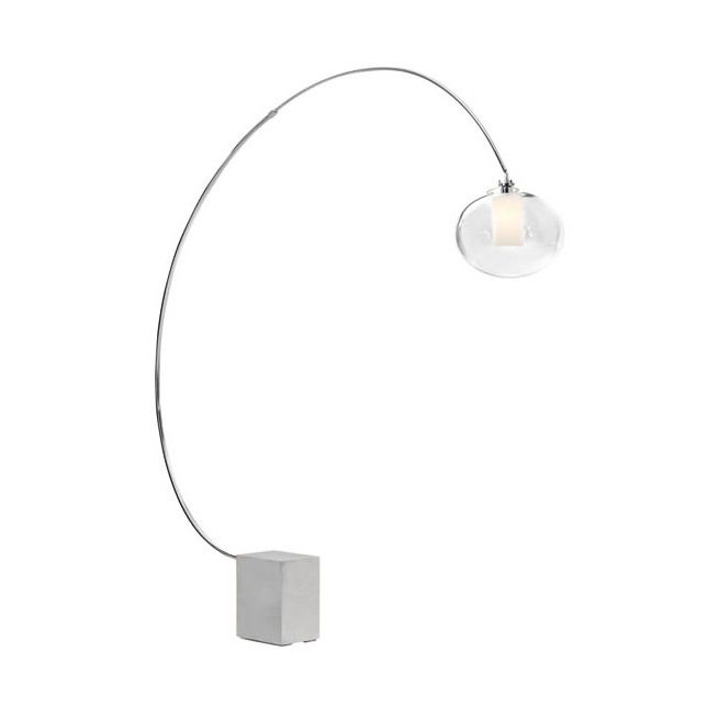 17 Best ideas about Curved Floor Lamp on Pinterest | Floor lamps ...:Modern chic meets futurism in this curved Curved Floor Lamp. A hanging  glass fixture attaches,Lighting