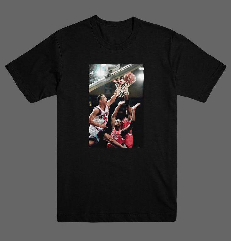 John Starks Iconic Dunk Over Jordan Chicago Bulls Knicks NBA T Shirt