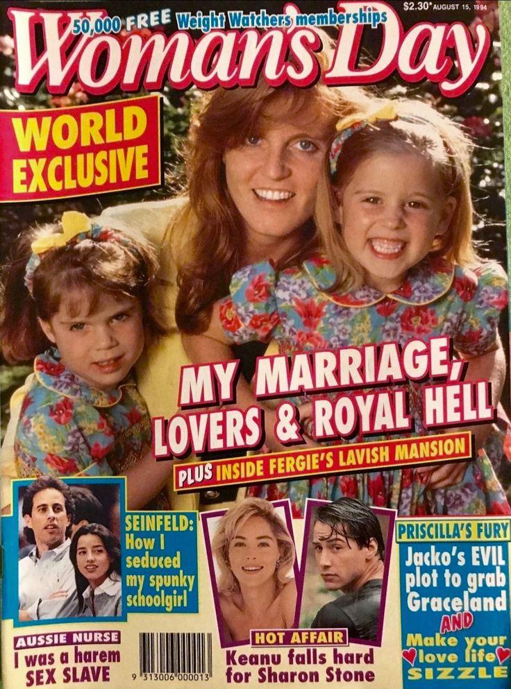 Woman's Day magazine 1994 - Sarah Ferguson