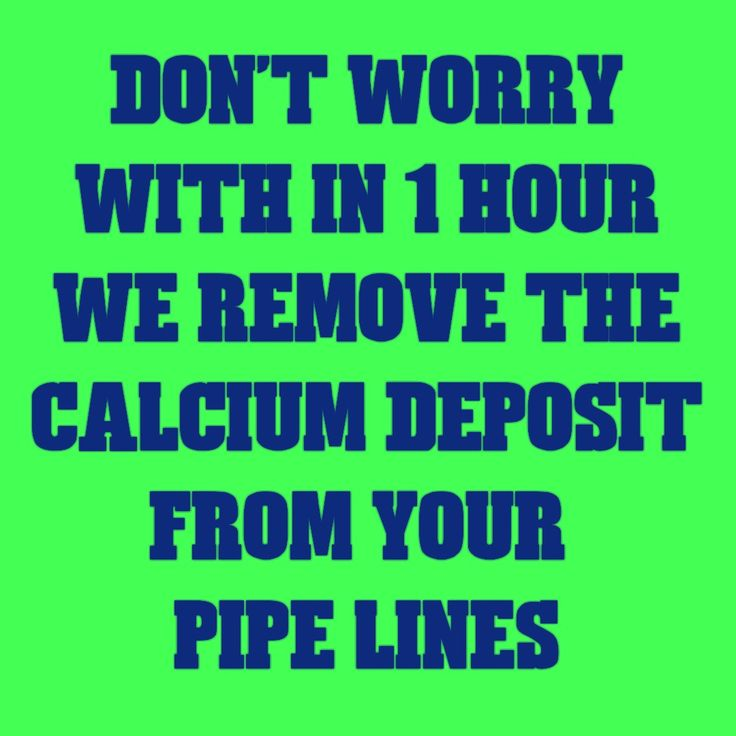 Yes, we can remove the pipe line salt (calcium deposit) with in 1 hour more details contact 8015513812 india.