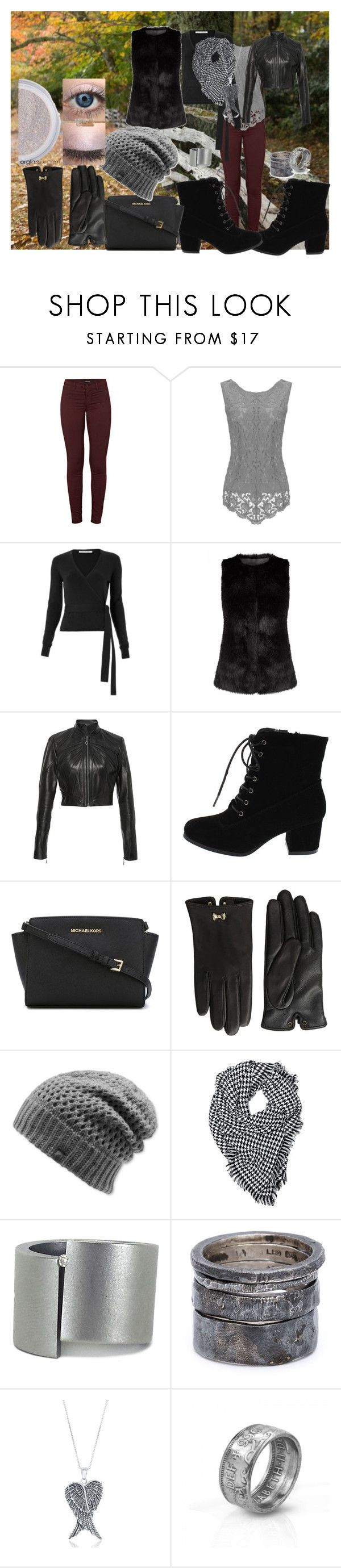"""""""autunno,inverno2"""" by viviana519 ❤ liked on Polyvore featuring J Brand, Diane Von Furstenberg, Oday Shakar, MICHAEL Michael Kors, Ted Baker, The North Face, Niessing, Lee Brennan Design and La Preciosa"""