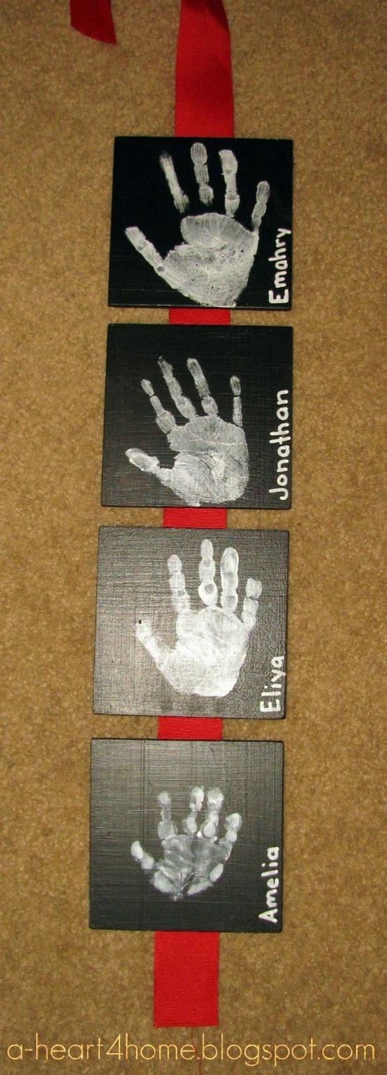 handprints - Click image to find more Kids Pinterest pins