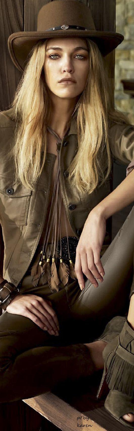 Diamond Cowgirl ~ Samantha Gradoville by JR Duran for Vogue
