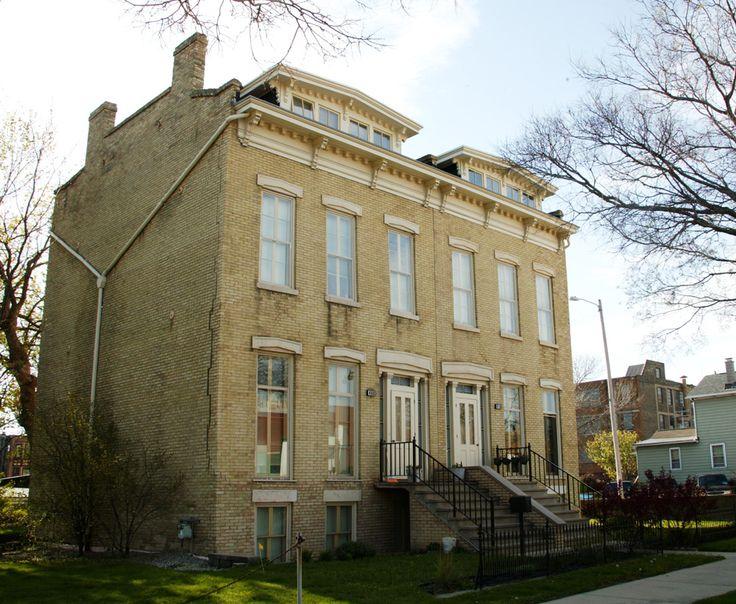Abel Decker Doublehouse S Street Milwaukee By David Hay Jones