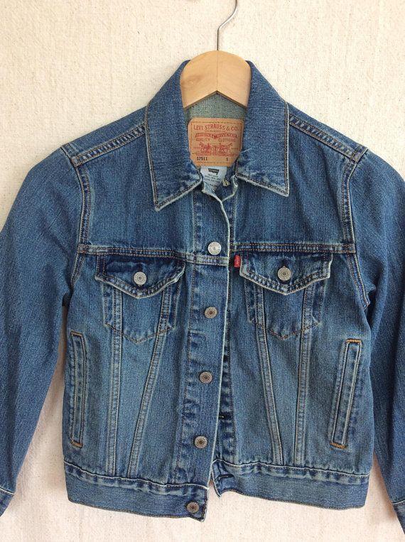Vintage Levi S Denim Jacket 90 S Levi Strauss Jean Denim Jacket Levi Denim Jacket Vintage Levis Denim Jacket