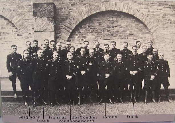 Nazi elite in Wewelsburg