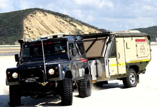 UEV 490 Conqueror Australia's Versatile Off Road Camping Trailer. The ultimate in off road adventures!